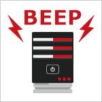 起動時に鳴るビープ音から故障・不具合の原因を特定する方法(対応一覧表)
