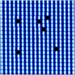 モニター画面にドット抜け(欠け・落ち)が発生している場合に想定される原因と対処法