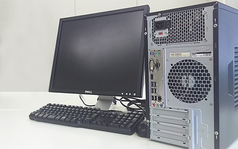 パソコンの放電