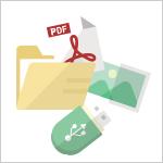 データやファイルのバックアップを取る方法