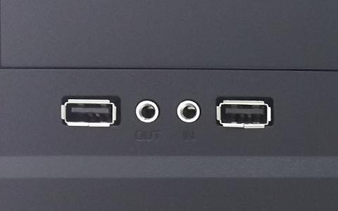 パソコン側USBコネクタ